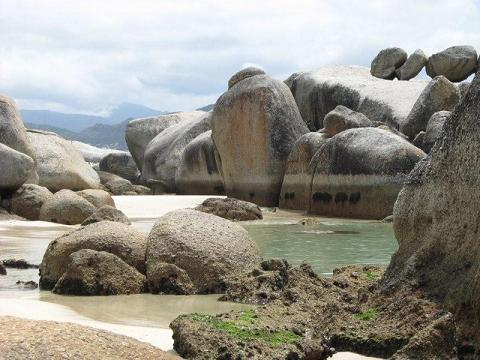 Picture of boulders beach