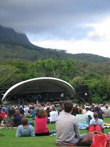 Cheap family vacation ideas outdoor concert