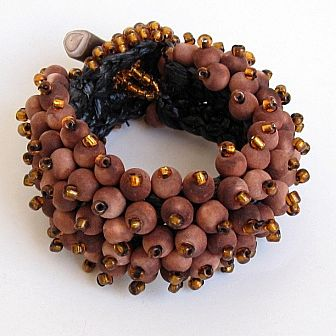 picture of bracelet made of beads