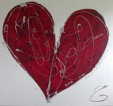 Heart Painting from Genevieve